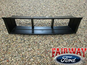 09 thru 14 F-150 OEM Genuine Ford Parts EcoBoost Black Lower Grille Panel Insert | eBay