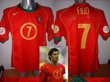 Portogallo LUIS FIGO Madrid Nike Maglia Jersey Calcio in mezzo per adulti EURO 04