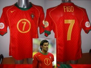 quality design 0d22b bb3eb Portugal Luis Figo Madrid Nike Shirt Jersey Football Soccer ...