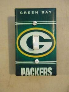 Green Bay Packers Acme Packers Light Switch Plate Wall Cover Decor Vintage