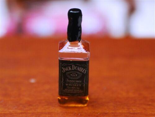 Accesorios en miniatura escala 12th FD156 Botella De Whisky