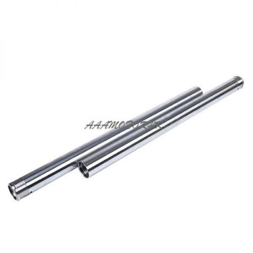 FORK PIPE FOR HONDA CMX250 Rebel 1996-2016 33mm Front Fork Inner Tubes x2 #345