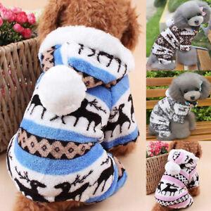 Pet-Dog-Fleece-Jumper-Knitwear-Winter-Coat-Puppy-Chihuahua-Warm-Sweater-Clothes