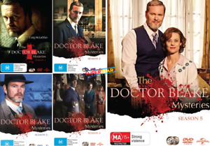 The-Doctor-Blake-Mysteries-Complete-Seasons-1-5-NEW-DVD