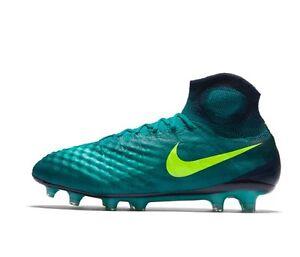 Dettagli su Nike Magista Obra FG 2 UK 7 EUR 41 NUOVO ~ 844595 375 TERRA FERMA ACC mostra il titolo originale