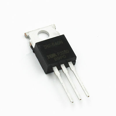 1Pcs IRF540 IRF540N Power MOSFET 33A IR 100V TO-220 FET