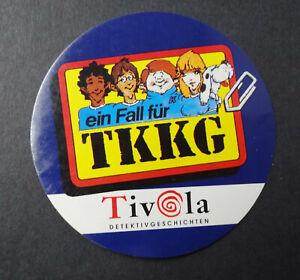 Sammler-Aufkleber Ein Fall For Tkkg Tivola-Verlag Cd-Rom Games 90er Years