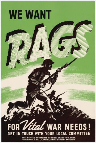 Vintage High Quality Allied WW2 World War II Propaganda Retro Posters A4