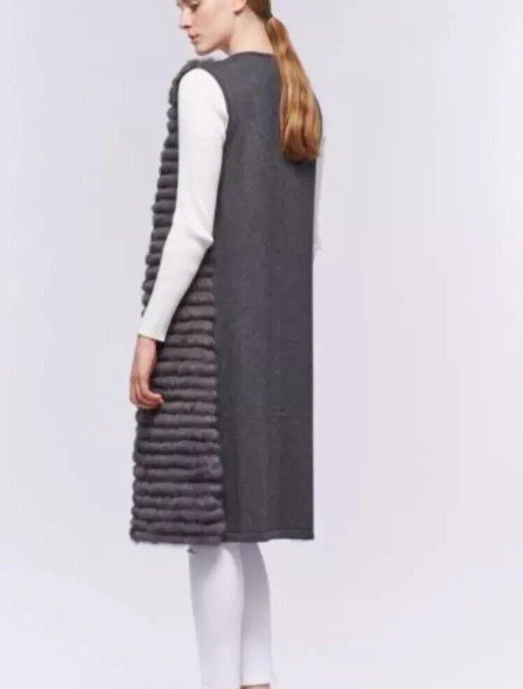 Fellweste  grau Wolle & & & Kaninchen    Deutschland Shop    Lebhaft und liebenswert    Moderner Modus    Lebendige Form    Vogue  2c837c