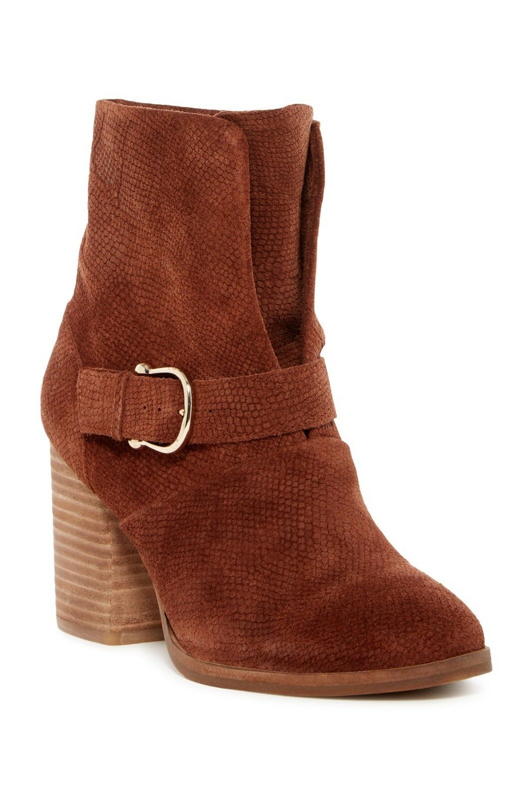 New  Isola Lavoy Block Heel démarrage  Cocoa Suede  femmes bottes Taille 9