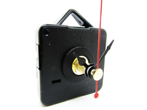 New 10 Pack Extra Long Quartz Clock Movements Mechanisms Motors /& Metal Hands