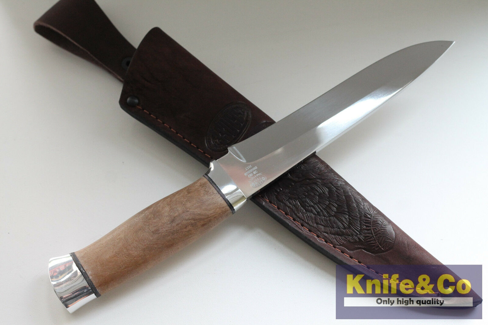 N1 T T N1  zzoss Combat Outdoor Camping Fishing Hunting Zlatoust Russian knife 58 hrc 3a619c