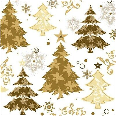 20 Paper Party Napkins Tree Decorations pack of 20 3 Ply Tissue Serviettes
