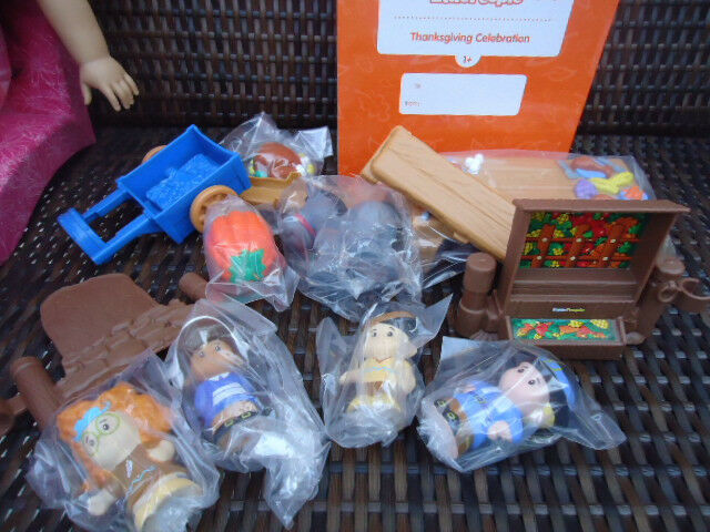 Fisher Price Little People Thanksgiving Celebration Set Set Set - New ONE - NEW IN BOX c33906