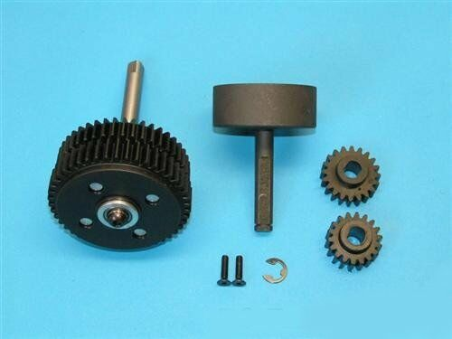 2-gang INGRAN 1:5 per FG 7451 - 2-Speed gear box for FG 1/5 with tuning Gears