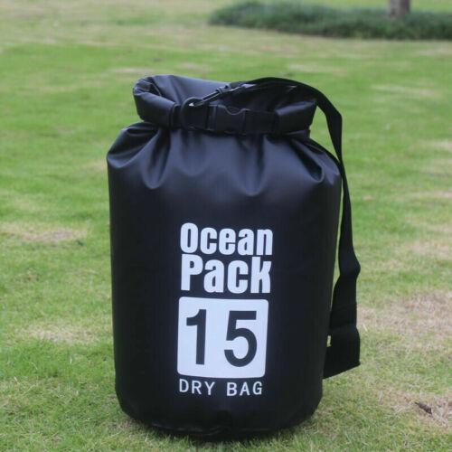 Floating Waterproof Dry Bag 10L//20L//30L Roll Top Sack Keep Gear Dry for Kayaking