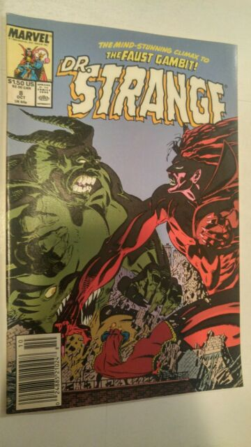 Dr Strange Sorcerer Supreme #8 October 1989 Marvel Comics