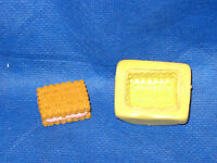 Biscuit Cookie Push Mold Flexible Resin Clay Candy Food Safe Silicone  #45