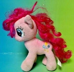"My Little Pony 6"" Plush Pinkie Pie Pink Horse Brushable MLP Aurora World 2014"