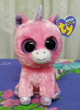 item 5  Ty Beanie Boos ~ MAGIC the pink UNICORN 15cm   solid eyes purple  tag - Ty Beanie Boos ~ MAGIC the pink UNICORN 15cm   solid eyes purple tag ab5f4dc07df8