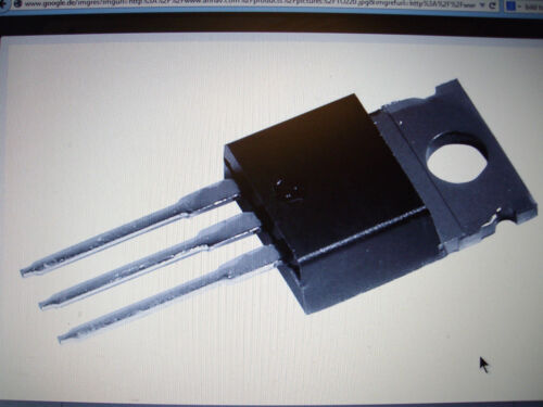 4 St S0807MH  Thyristor SCR 8A-600V TO 220 TAG allocation part