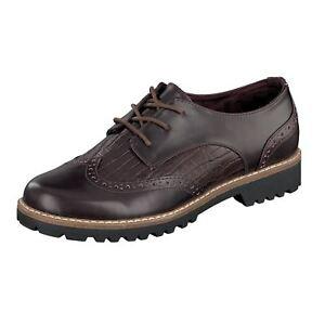 Stringate Vino Stringate 236 425 Brogue Shoes Jane Bordeaux Donna Klain Classiche TwPYqY