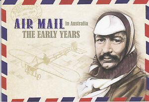 2014-Airmail-in-Australia-The-Early-Years-SP209-Prestige-Booklet