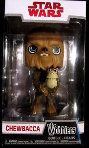 Porg Bobble Head Wackelkopf Star Wars Chewbacca Wobbler Reinweiß Und LichtdurchläSsig