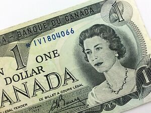 1973-Canada-1-One-Dollar-Circulated-IV-Replacement-Lawson-Bouey-Banknote-R329