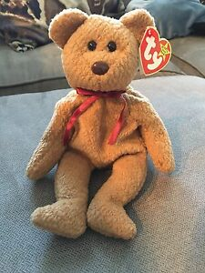 6725681dbe6 Image is loading Rare-TY-Beanie-Baby-Curly-with-Tag-Errors-