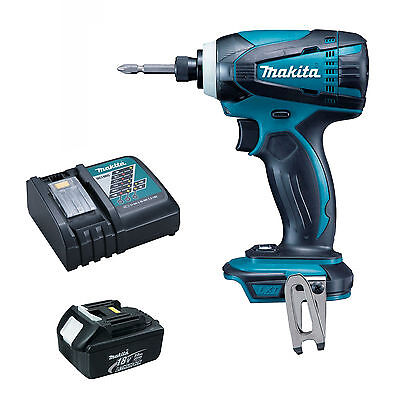 MAKITA 18V BTD146 IMPACT DRIVER BL1830 BATTERY DC18RC CHARGER /& BAG DTD152Z
