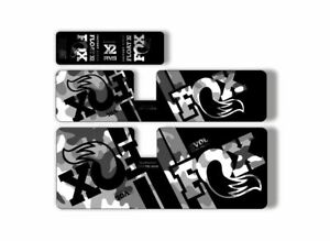 FOX Float X2 2019 Rear Shock Suspension Sticker Factory Decal Kit Camo
