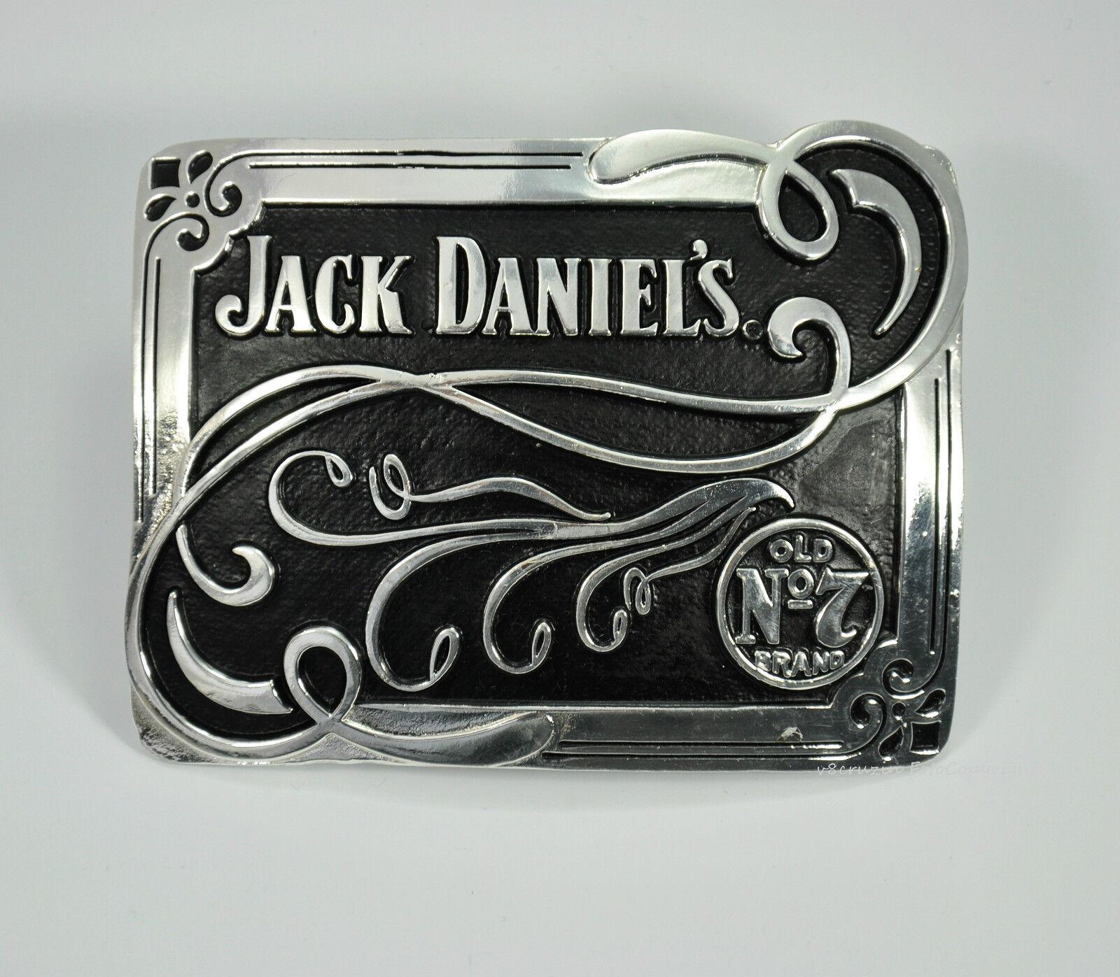 Jack Daniel`s No.7 Merchandising Whiskey Gürtelschnalle Lizenz Buckle *167