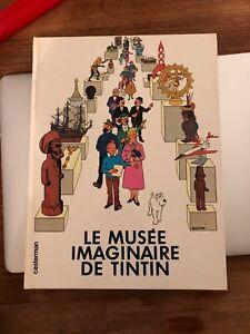 LE-MUSEE-IMAGINAIRE-DE-TINTIN-Ed1980-SANS-CALQUE-HERGE-STERCKX-Parfait-Etat
