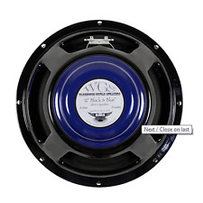 "WGS BLACK & BLUE 15w 12"" Alnico Guitar Speaker 8ohm"