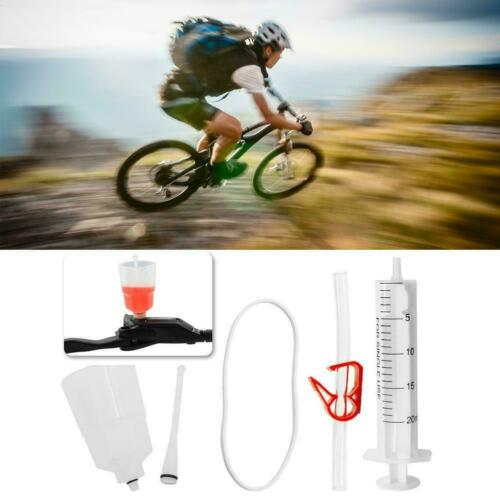 Hydraulic Bicycle Disc Brake Mineral Oil Bleed Repair Tool Kit for Mountain❤V