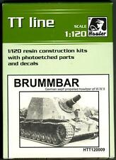 Hauler Models 1/120 German BRUMMBAR S.P. HOWITZER Resin & Photo Etch Model