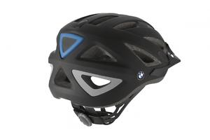 Bmw original casco de bicicleta negro antracita con cofia nuevo embalaje original