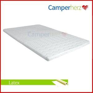 6 cm matratzenauflage 180x200 latex matratzenschoner bezug wohnwagen topper ebay. Black Bedroom Furniture Sets. Home Design Ideas