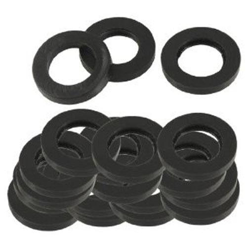 M12 12mm PIATTO forma una nera spessa in Neoprene qualità commerciale Rondelle di gomma