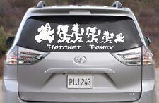 Hatchet Juggalo Family Vinyl Decal - Car Body Decal, Bumper Sticker,Window Decal