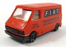 Praliné FIAT 242 Transporter Deutsche Fiat AG 1:87