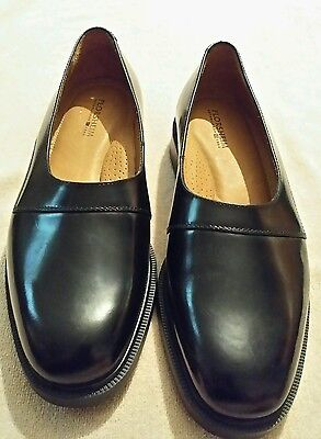 Florsheim HILLEL Black Leather Men Dress Shoes Size 8.5 M New