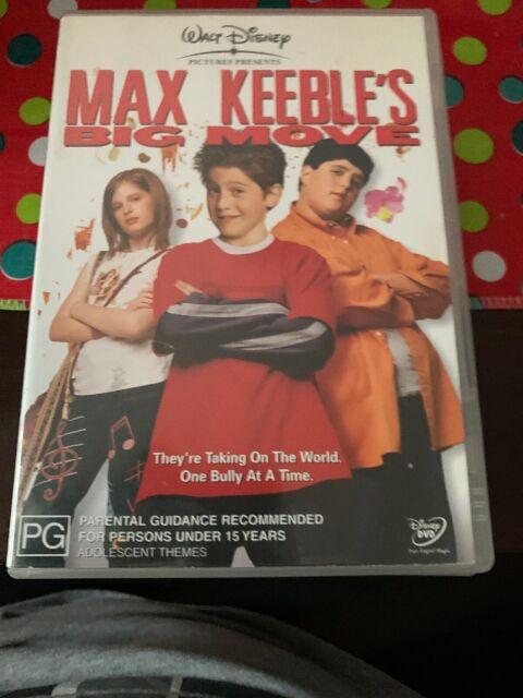 Max Keeble's Big Move (DVD, 2003) Region 4 Rare