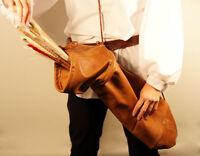 Medieval-sca-re Enactment-larp-agincourt-tudor-archers Leather Arrow Bag/quiver