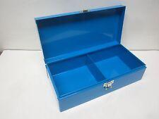 Metal Sorting Box 2 Compartment Storage 11 1/2 x 5 1/2 x 3 H