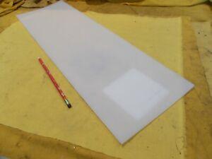 "NATURAL UHMW BAR machinable plastic flat sheet stock 1 1//2/"" x 2 1//2/"" x 5 7//8/"""
