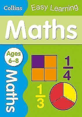 Maths Ages 6-8 von Collins Easy Learning (2014, Taschenbuch)