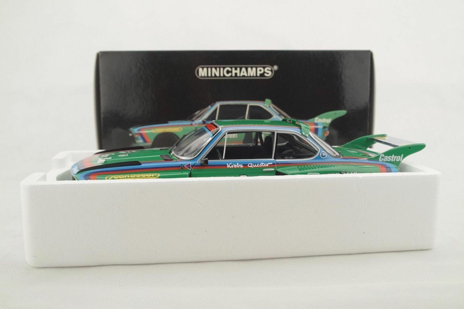 1 18 Minichamps - BMW 3.5 Csl Grupo 5 1976  Gösser Cerveza Nuevo   Embalaje