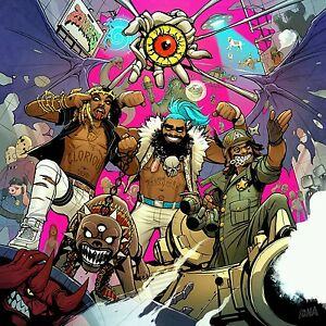Flatbush Zombies 3001 A Laced Odyssey Album Cover Art Poster